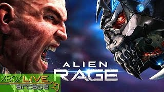 Alien Rage - X360 XBLA Gameplay (XBOX 360 720P)