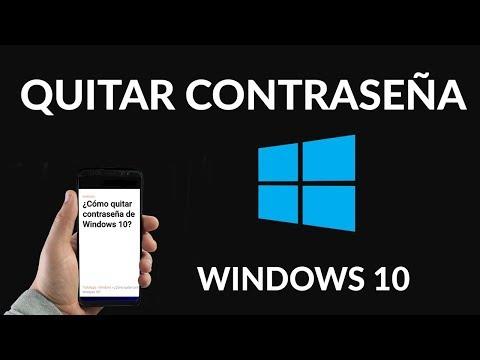 Cómo Borrar o Eliminar la Contraseña de Windows 10