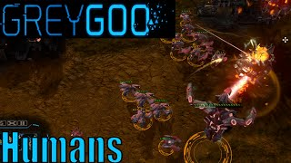 Grey Goo Skirmish Gameplay - Humans