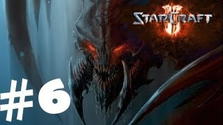 StarCraft 2 Heart of the Swarm Campaign Walkthrough Part 6 Gameplay Review Lets Play HD Hard PC
