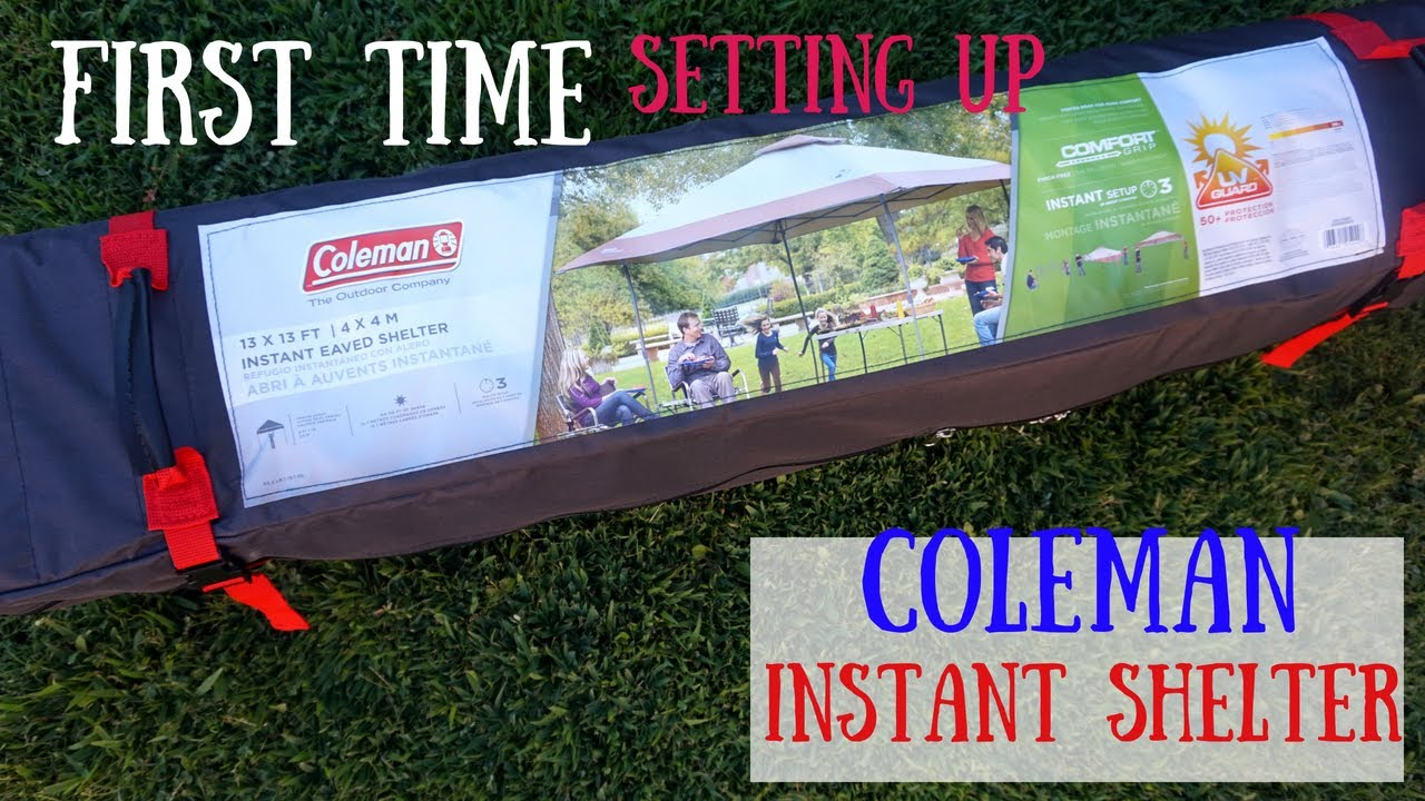 Coleman Instant Shelter 13X13