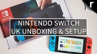 Nintendo Switch Unboxing and Setup (UK model)