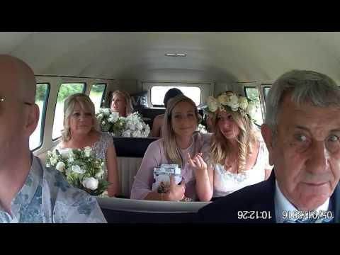 Belinda & Stephen ... Kombi & Beetle Wedding Car Hire by Fisch & Co.