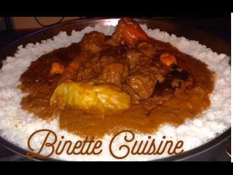 How to cook mafe recette senegalaise youtube - Recette de cuisine senegalaise ...