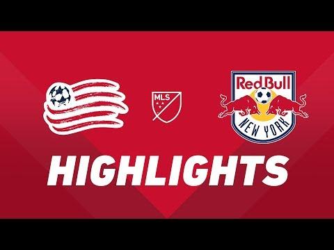New England Revolution vs. New York Red Bulls | HIGHLIGHTS - April 20, 2019