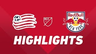 New England Revolution vs. New York Red Bulls | HIGHLIGHTS - April 20, 2019