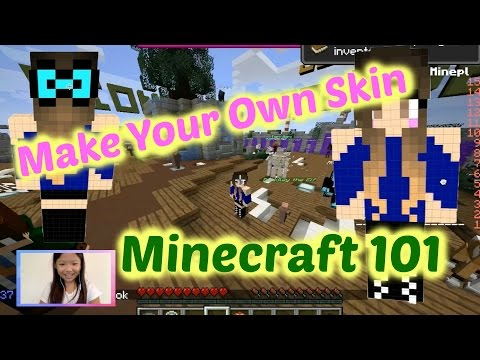 How to Make Your Own Skin in Minecraft マイクラのスキンの作り方