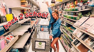 Back To School Supplies Shopping! (for an online student)
