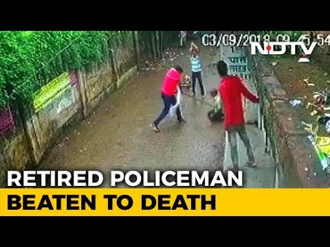 Retired Cop Beaten To Death In Allahabad, Locals Watched. Attack On CCTV