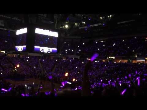 2013-14 Sacramento Kings Home Opener Purple Out
