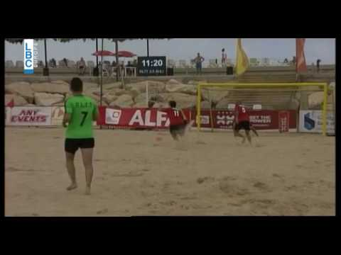 Alfa Lebanese Beach Soccer Championship - Upcoming The Final