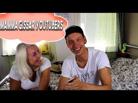 MAMMA GISSAR YOUTUBERS (SKRATT VARNING)