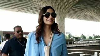 Sonam Kapoor Ahuja snapped at airport today (7 oct 2018)