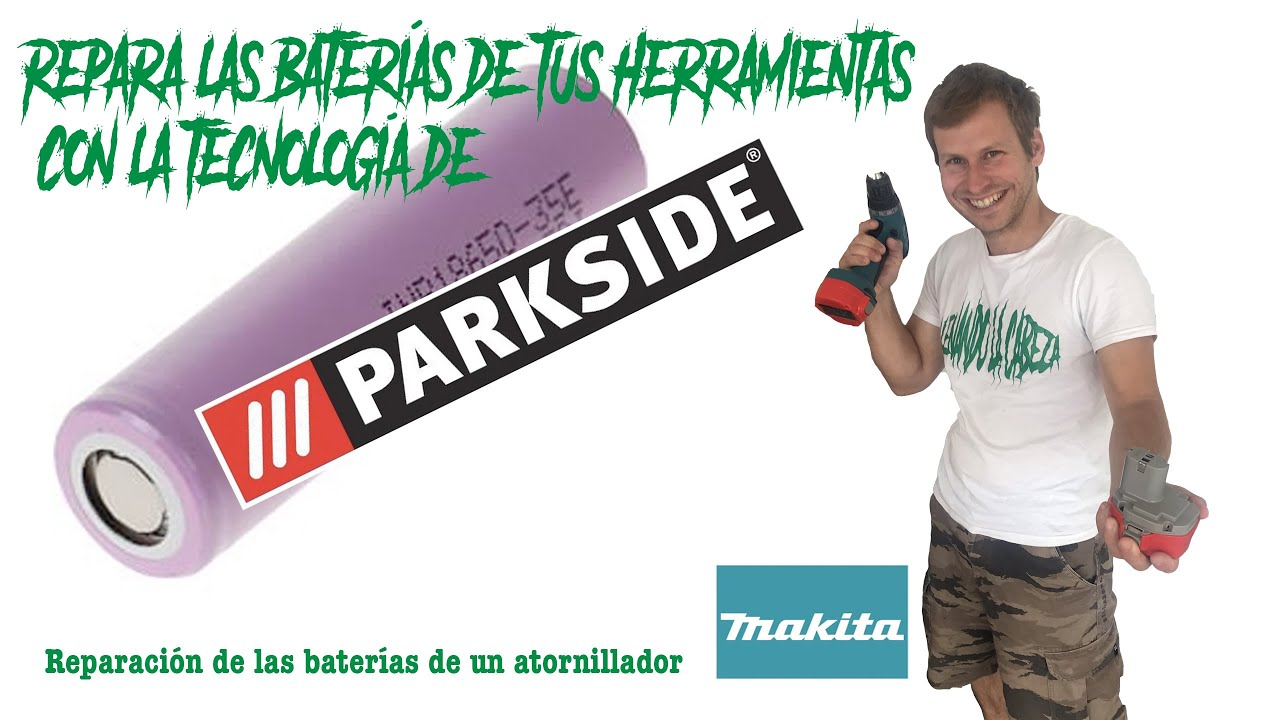Repara las baterías de tus máquinas usando la misma tecnología que #PARKSIDE -  Cargaro de origen.