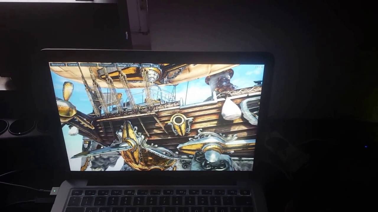 eGPU - NVIDIA Geforce GTX1060 on 2015 MacBook Pro Retina 13