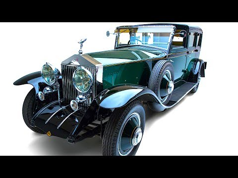"Rolls Royce Phantom I Fred Astaire 1927 ""Great Eight Rolls-Royce Phantoms"" Exhibition CARJAM TV HD"