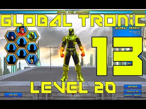 Champions Online - Part 13 - Global Tronic - Level 20 Impulse Powers