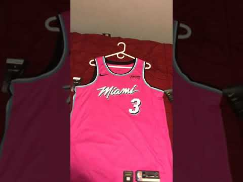 separation shoes c411a 08017 Miami Heat Dwyane Wade earned edition jersey