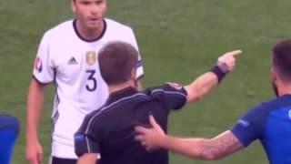 Германия - Франция 0:2, видео обзор 07 июля 2016(Во матче 1/2 финала чемпионата Европы-2016 сборная Франции победила Германию со счётом 2:0., 2016-07-08T04:00:19.000Z)