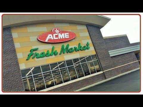A New Face For ACME Fresh Market ! Whipple Ave Canton Ohio