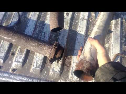 Replacing the catalytic converter and exhaust on my 1998 Dodge Ram