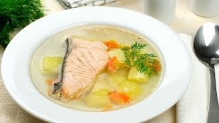 Как приготовить уху с судаком, копченым лососем. | How to cook soup with pike-perch, smoked salmon.(Как приготовить уху с судаком, копченым лососем. Смотрите на сайте http://smotricook.info/ Смотрите простой способ,..., 2015-01-14T19:05:40.000Z)