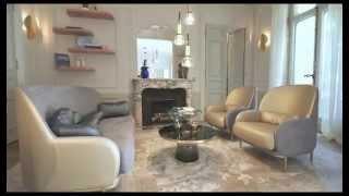 Gérard Faivre  & Secret du Luxe : apartment bd Saint Germain - Paris
