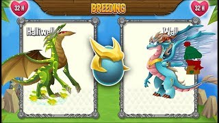 Promethium Dragon vs Mother's Day Dragon | Dragon City [RARE BREEDING DRAGON]