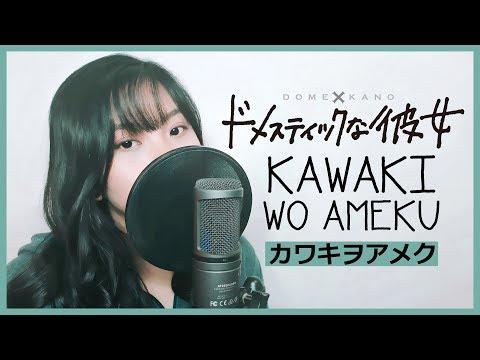 "Domestic na Kanojo OP - ""Kawaki wo Ameku"" (Full Version フル歌詞付き) - Cover by Akano"