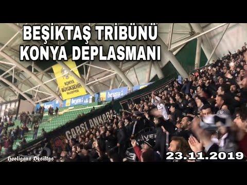 Beşiktaş Tribünü Konya Deplasmanı 23.11.2019