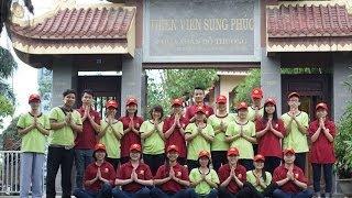 Flashmob Nhịp vui Khánh đản 2014: CLB Hương Sen Tri Âm và Gia đình Tâm Thiện (Hương Sen Đại Bi)