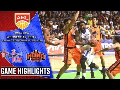 HIGHLIGHTS: Alab Pilipinas vs. Mono Vampire (VIDEO) February 7
