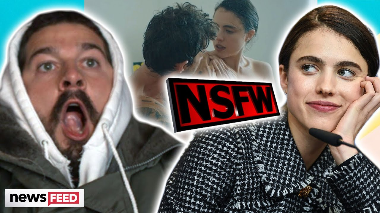 Shia LaBeouf & Margaret Qualley BARE Their Bodies In New Music Video!