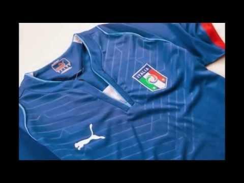 Nueva camisetas de futbol del seleccion Italia 2013 2014 baratas