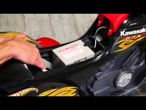 Fisher-Price Hot Wheels KFX Battery Powered ATV Riding Toy- Product Review Video