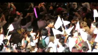 120818 SM town concert ending stage 2 (EXO-K D.O)