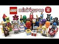 LEGO Minifigures Series 18 COMPLETE Review!