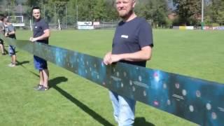 Das größte Rubbellos der Welt mit über 100 m Rubbelfläche