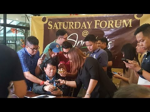 SATURDAY FORUM@ANNABEL'S BALITAAN SA QC - DECEMBER  9, 2017