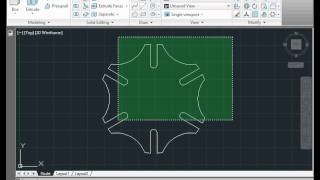 Autocad Tutorial - Basic Training -  How To Build A Gear