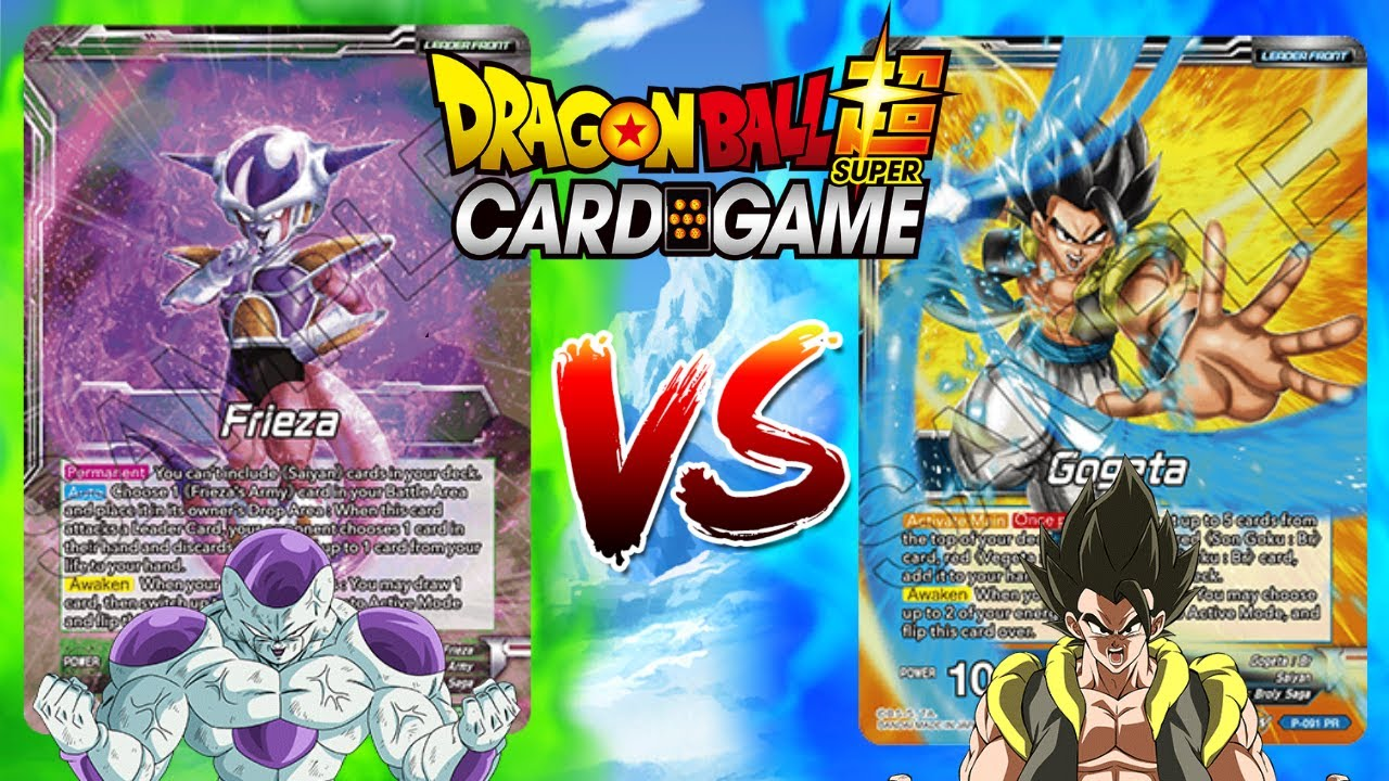 Frieza Deck Vs Gogeta Deck | Dragon Ball Super Card Game Battle🔥