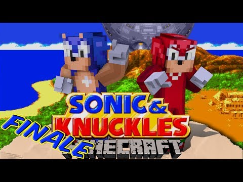 Sonic Craft 4 (Sonic & Knuckles) FINALE w/ KKcomics and Gizzy Gazza!
