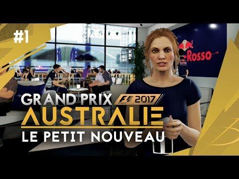 F1 2017 - MA CARRIÈRE - #1 GP D'AUSTRALIE