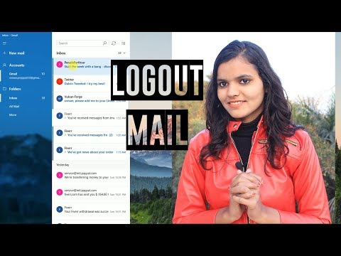 How To Logout Mail In Window 10