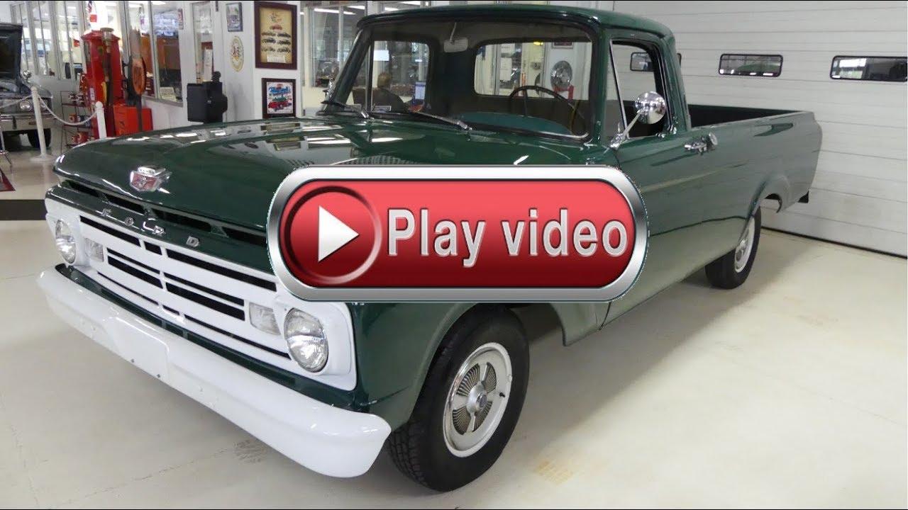1962 ford f 150 pickup truck manual unibody