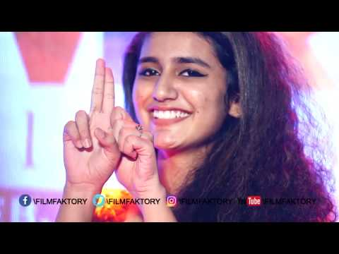 Gun Kiss From Our National Crush Priya Varrier | Oru Adaaru Love