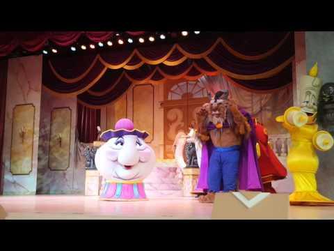 Beauty & The Beast Show @ Hollywood Studies 2015 Walt Disney World!