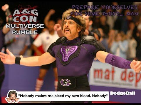 A&G Con's Multiverse Rumble 2016: Patches O'Houlihan vs Dwight Goodman *Fan Vid*