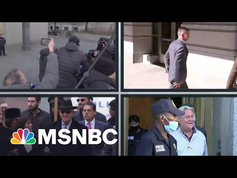Parade Of Trump-Tied Criminal Cases Marches On