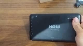 Hard reset tablet how max quad (a0011)